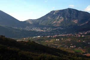 View of the Vitulano valley